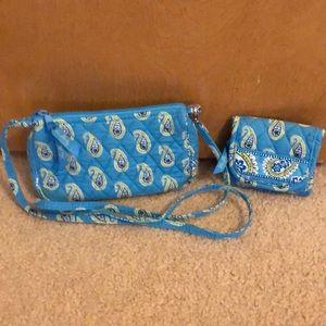 VeraBradley Bermuda blue Amy purse&wallet